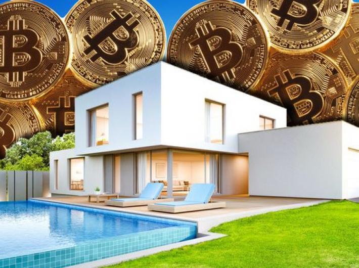 продажа недвижимости за биткоины